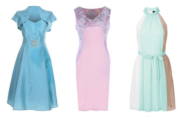 Sukienki na wesele w różnych kolorach
