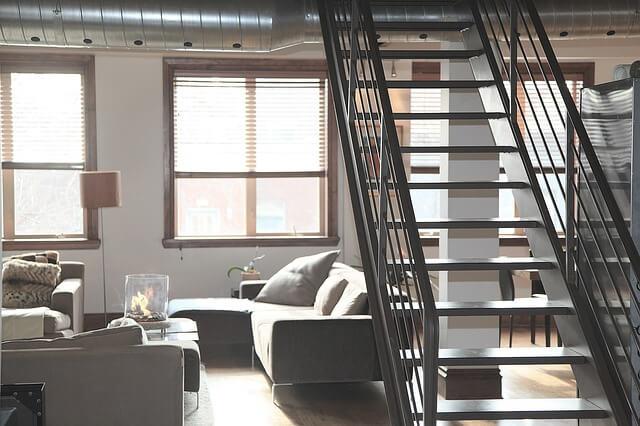 Nowoczesne wnętrze mieszkania dla singla