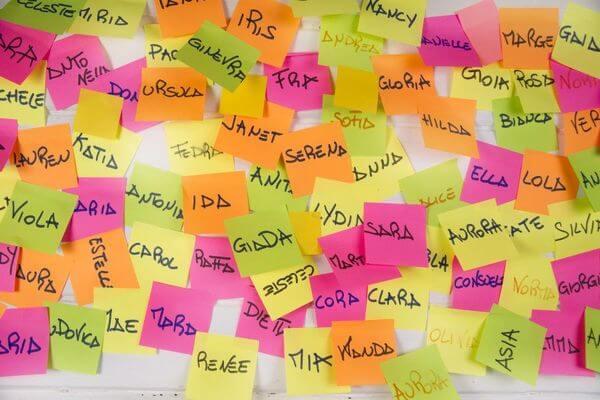 Angielskie imiona