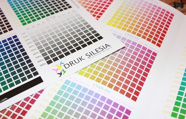 Drukarnia katalog kolorów