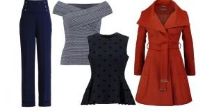 Jak dobierać ubrania dla figury typu gruszka i klepsydra? Pomysły na jesienne stylizacje