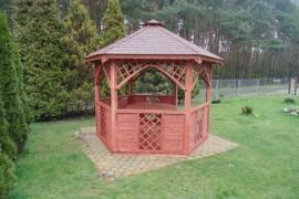 Jaki kształt dla drewnianej altany?