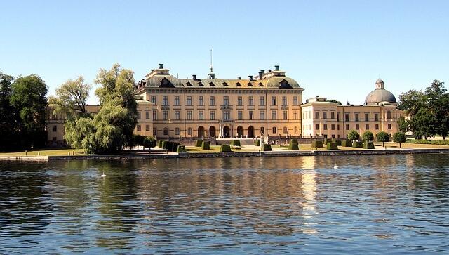 królewski pałac Drottningholm