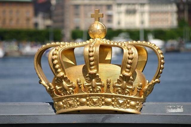 szwedzka korona królewska
