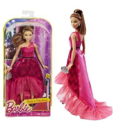 Lalka Barbie księżniczka w sukni
