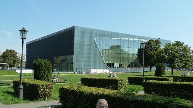 Budynek Muzeum Historii Żydów Polskich
