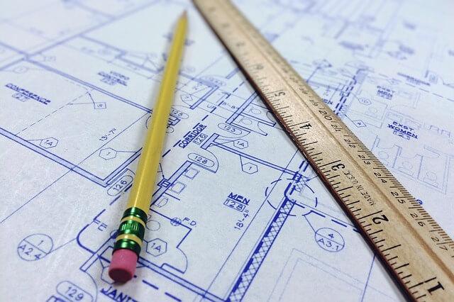 Szkic projektu architektonicznego