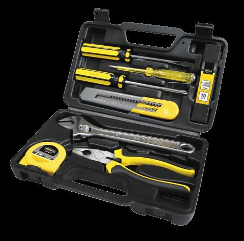 Zestaw narzędzi ręcznych w walizce