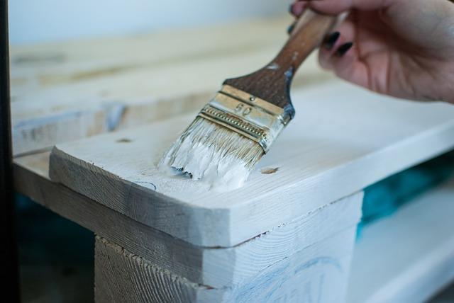 malowanie na biało