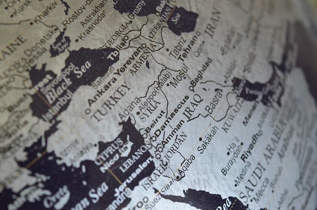 Syria na globusie