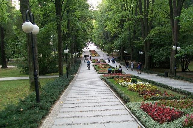 Park zdrojowy w Polanicy Zdroju