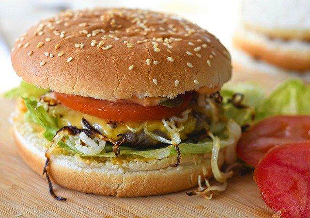 Burger domowy